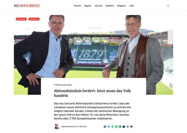 Zum Artikel von Die Ostschweiz Zum Eigenen Archiv