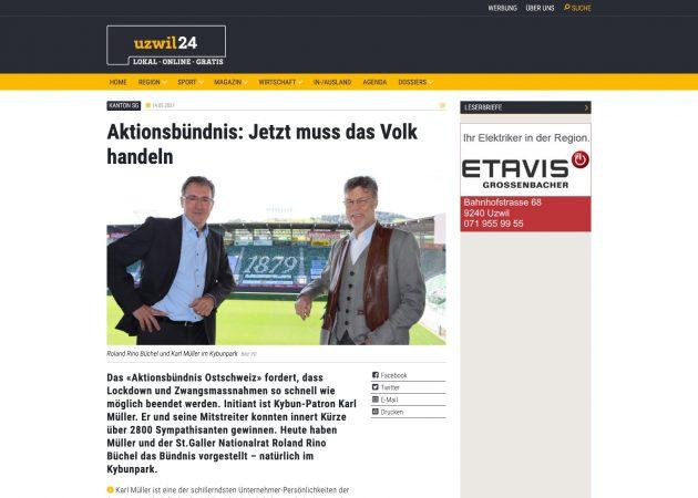 Zum Artikel von uzwil24 Zum Eigenen Archiv