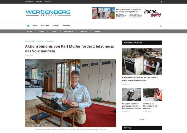 Zum Artikel von Werdenberg Aktuell Zum Eigenen Archiv